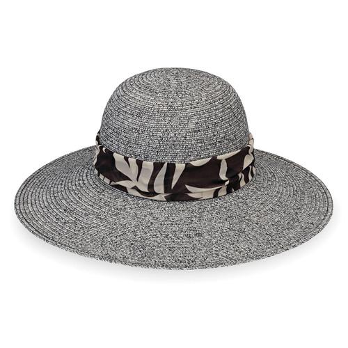 d9a4dce18a9 Womens Wallaroo Mia UPF50+ Sun hat black combo