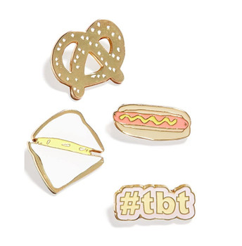 Celebrate Shop 4-Piece Enamel Pin Set - Flair Pin Sets #tbt
