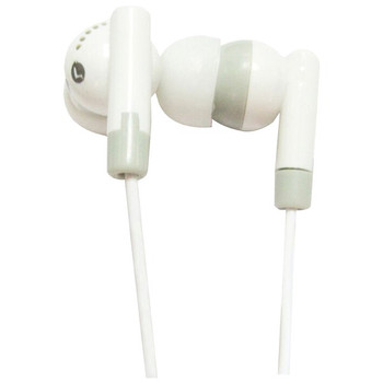 Supersonic IQ-101 WHITE IQ-101 Digital Stereo Earphones (White)