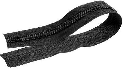 #8 Coil Chain Black
