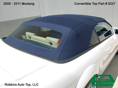 2005-2014 Mustang One Piece Top w/Heated Glass