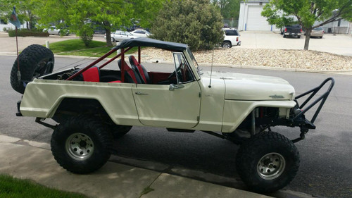 Roll Bar Top - Jeepster Commando (1965-1973)