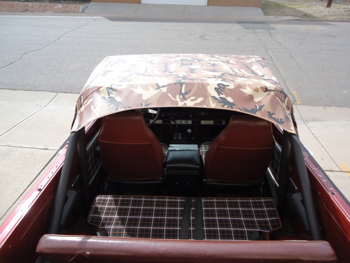 Roll Bar Top - Scout II