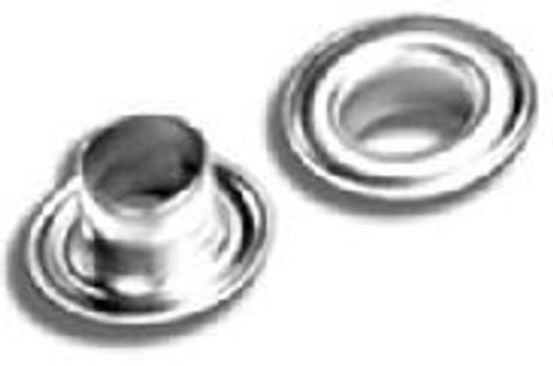 #0 Nickel Grommet & Washer with Sharpened Edge