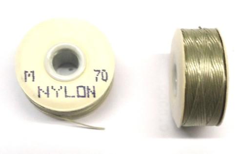"""Natural Nylon Bobbins - Size """"M"""""""