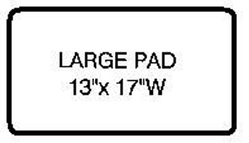 Large Universal Heel Pad