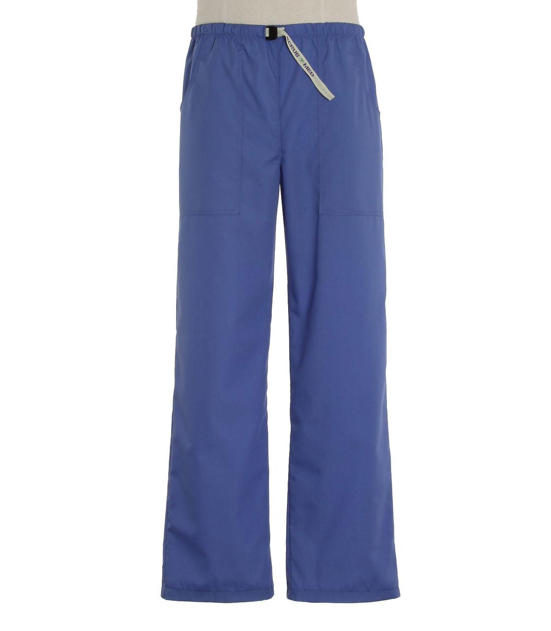 ad442390875 Scrub Med Mens Belted Scrub Pants Hyacinth (ScrubLite) - Scrub Med