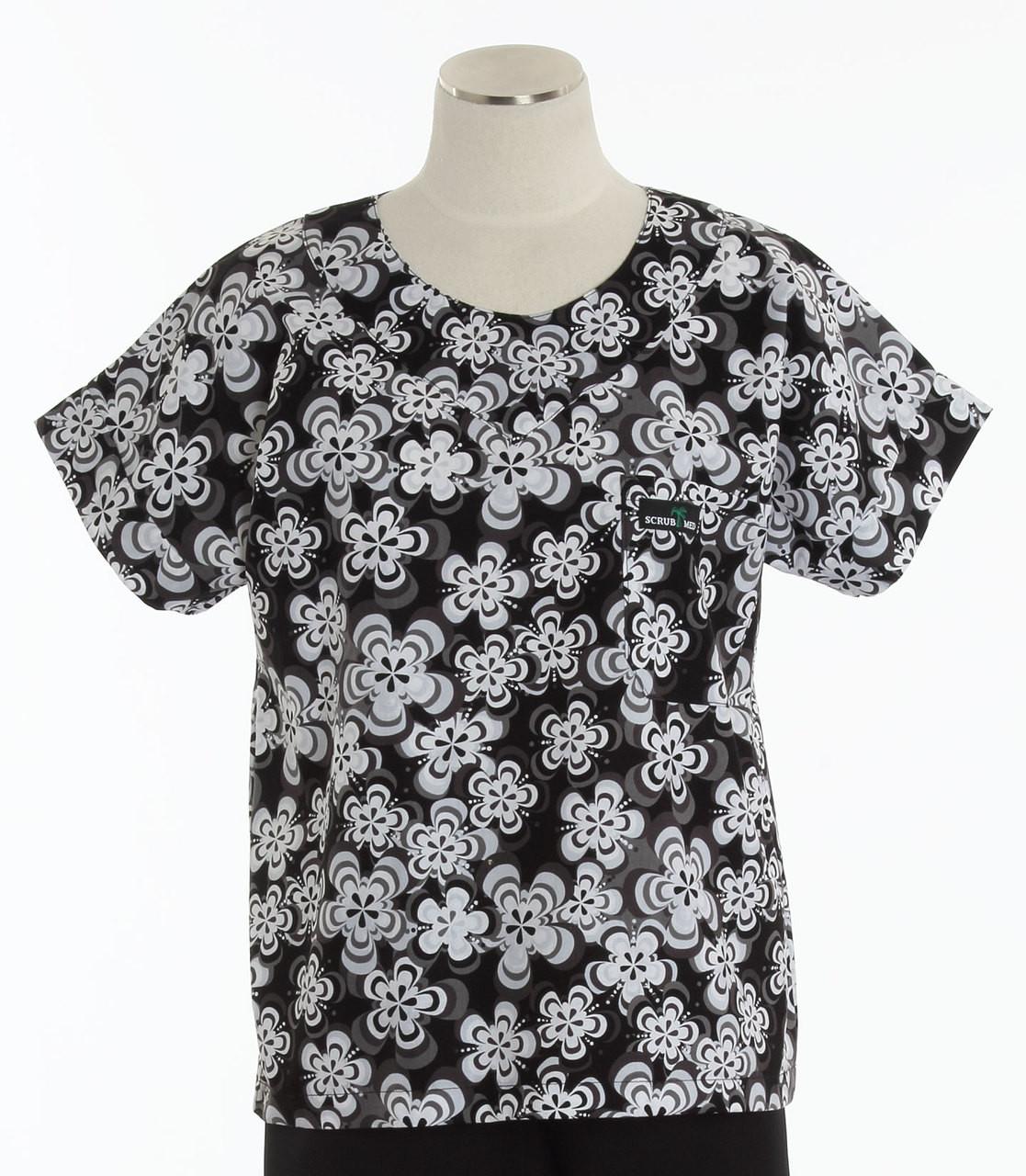 b102d164bde Scrub Med Womens Print Scrub Top Hypnotic - Original Price: $31.00 ...