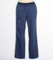 Cherokee Workwear Revolution Womens Navy Cargo Scrub Pants WW105