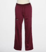 Cherokee Workwear Revolution Womens Wine Cargo Scrub Pants WW105P