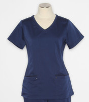 Healing Hands Purple Label Juliet navy scrub top 2245