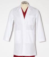 "Meta Labwear Mens 38"" white lab coat"