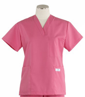 Scrub Med womens v-poc scrub top mesa rose