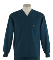 Scrub med long sleeve spruce scrub top