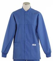 scrub med ROM bimini blue lab jacket