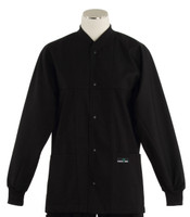 Scrub Med ROM Lab Jacket Black