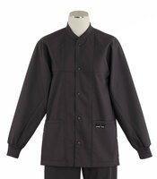 Scrub Med ROM Lab Jacket Charcoal