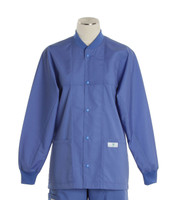Scrub Med ROM hyacinth lab jacket