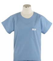 Scrub Med womens scrub top celestial blue on sale