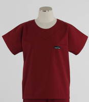 Scrub Med discount womens scrub top currant