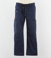 Dickies womens scrub pants navy