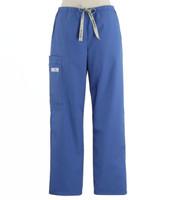 Scrub Med womens discount drawstring scrub pants bimini blue