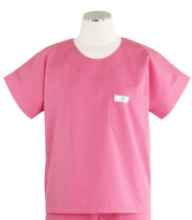 Scrub Med womens scrub top mesa rose