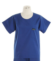 Scrub Med womens scrub top pacific blue (scrublite)