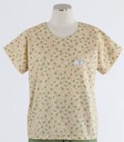 Scrub Med womens print scrub top on sale sweet pea