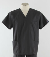 Cherokee Workwear Originals Unisex Scrub Top Pewter