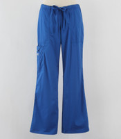 Cherokee Workwear Womens Cargo Scrub Pants Royal