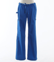 Koi Womens Scrub Pants Lindsey Cut Royal Petite