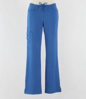 Greys Anatomy Signature Line Womens Scrub Pants New Royal