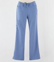 Greys Anatomy Signature Line Womens Scrub Pants Ciel - Petite