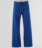 Maevn Petite Unisex Seamless Drawstring Scrub Pants Royal