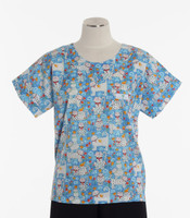 Scrub Med discount print scrub top cute to boot