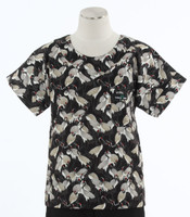 Scrub Med Womens Print Scrub Top Grace - Original Price: $31.00 - ALL SALES FINAL!
