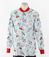 Scrub Med discount print scrub jacket Frosted Flakes