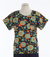 scrub med discount scrub top country garden