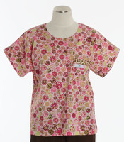Scrub Med Womens Print Scrub Top Ice Cream Sundae - Original Price: $31.00 - ALL SALES FINAL!