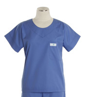 Scrub Med womens cheap scrub top hyacinth (scrublite)