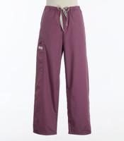 Scrub Med womens cheap drawstring scrub pants mauve (scrublite)