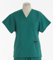 scrub med cheap womens v-neck scrub top teal