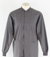 Scrub Med ROM steel lab jacket