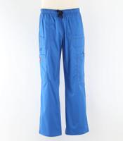 dickies gen flex mens tall cargo scrub pants royal