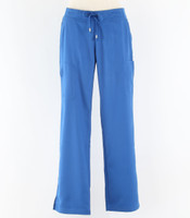 Greys Anatomy style 4277P Womens petite Scrub Pants New Royal