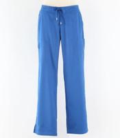 Greys Anatomy style 4277P Womens petite Scrub Pants New Royal