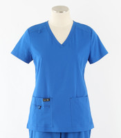 koi basics becca scrub top in royal