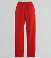 Scrub Med cheap womens elastic scrub pants red