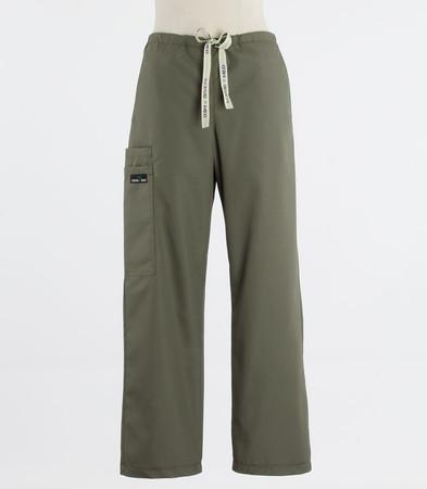 Scrub Med discount womens drawstring scrub pants moss